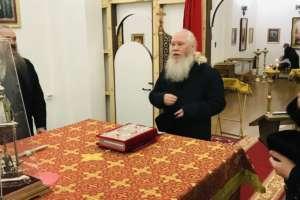 Архипастырь впервые посетил Михаило-Архангельский храм г. Улан-Удэ