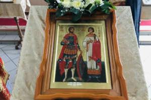В Улан-Удэ отметили память святых мучеников Виктора Воина и Викентия диакона