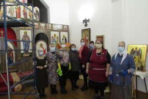 Храм Архистратига Божия Михаила г. Улан-Удэ украсили иподготовили кпрестольному празднику