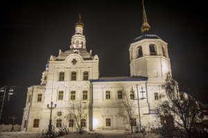 В ночь на 7 января Улан-Удэнская и Бурятская епархия отметила праздник Рождества Христова торжественными богослужениями