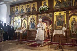 В навечерие Рождества Христова митрополит Иосиф совершил богослужение в Свято-Одигитриевском соборе