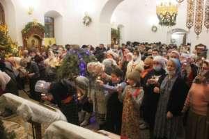 «Нескончаемая радость»: Рождество Христово вТроицком Селенгинском монастыре