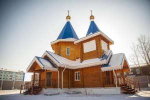 Великое освящение храма в честь иконы Божией Матери «Скоропослушница» с. Таловка