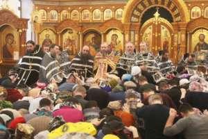 Первое соборование вТроицком монастыре