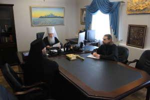 Состоялось очередное заседание Архиерейского совета Бурятской митрополии