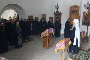 В Улан-Удэнской и Бурятской епархии состоялась общая исповедь духовенства