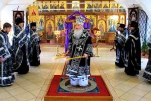 Митрополит Иосиф возглавил служение второй Пассии