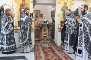 Литургия Преждеосвященных Даров в Вознесенском храме