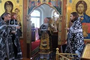 Литургия Преждеосвященных Даров в Четверток Великого канона