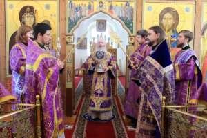 Богослужения в Неделю четвёртую Великого поста