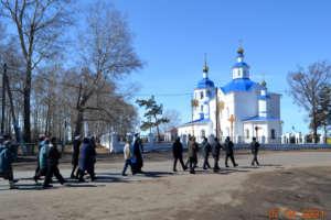 Состоялся престольный праздник Благовещенской церкви села Байкало-Кудара