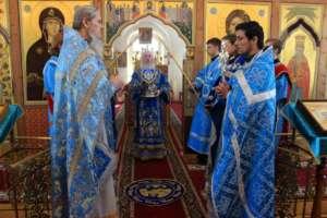 Празднование Похвалы Пресвятой Богородицы в Улан-Удэ