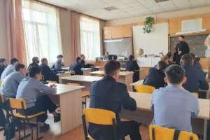 Студенты Бурятского республиканского индустриального техникума пообщались сосвященником