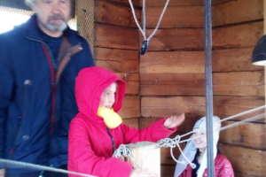 Первое занятие детской воскресной школы вселе Бичура