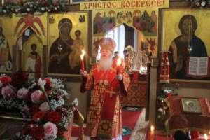 Встреча Благодатного огня из Святого Града Иерусалима в Свято-Троицком храме