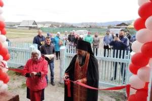 Открытие Гуманитарного склада Свято-Троицкого Селенгинского монастыря