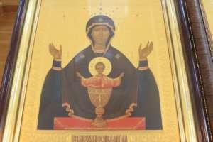 Празднование чудотворной иконе Божией Матери «Неупиваемая Чаша»