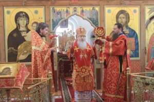 Богослужения в Неделю 5-ю по Пасхе, о самаряныне