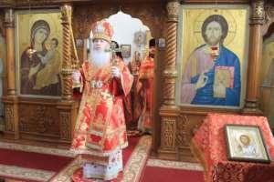 Воскресное богослужение в Никольском храме г. Улан-Удэ