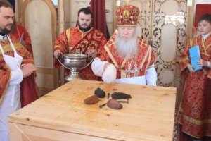 Великое освящение храма в честь Владимирской иконы  Божией Матери с. Сотниково