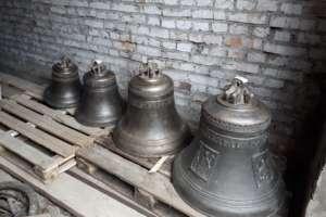 На колокольне строящегося кафедрального собора будут установлены колокола