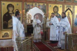 26 июля молитвенно отмечено 16-летие со дня страдальческой кончины первого настоятеля возрожденной Вознесенской Давидовой Пустыни архимандрита Германа