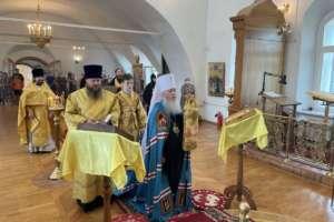 Воскресные богослужения в Свято-Одигитриевском соборе