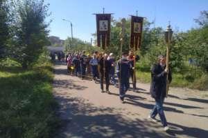 На Улан-Удэнском локомотивовагоноремонтном заводе состоялся Крестный ход