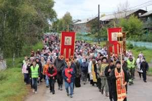 Традиционный крестный ход на Иоаннову гору состоялся