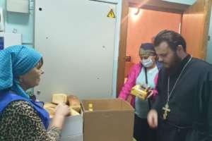 Сбор помощи пострадавшим от наводнения