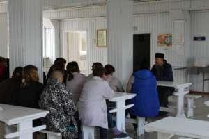Встреча с осужденными на тему аутоагрессии и средствах ее преодоления