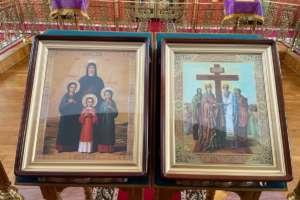 Память святых мучениц Веры, Надежды, Любови и матери их Софии