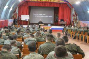 День трезвости в воинском подразделении