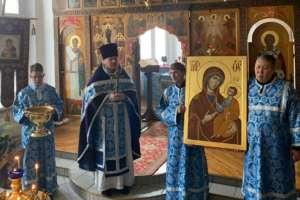 Новый «Иверский» образ Божией Матери в Свято-Троицком храме