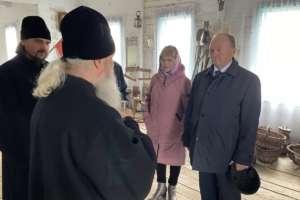 Встреча митрополита Иосифа с Председателем Народного Хурала Республики Бурятия