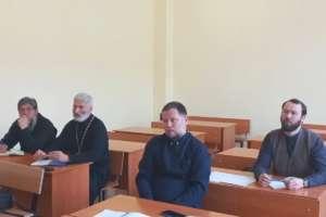 Курсы повышения квалификации священнослужителей начали работу в Улан-Удэнской епархии